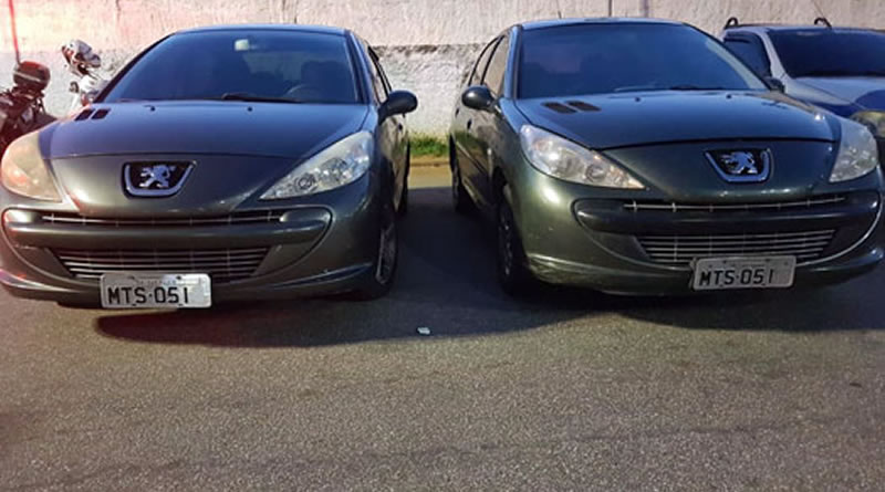 Carros clonados