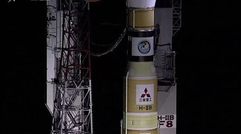 Espaçonave japonesa é acoplada a uma estação espacial internacional