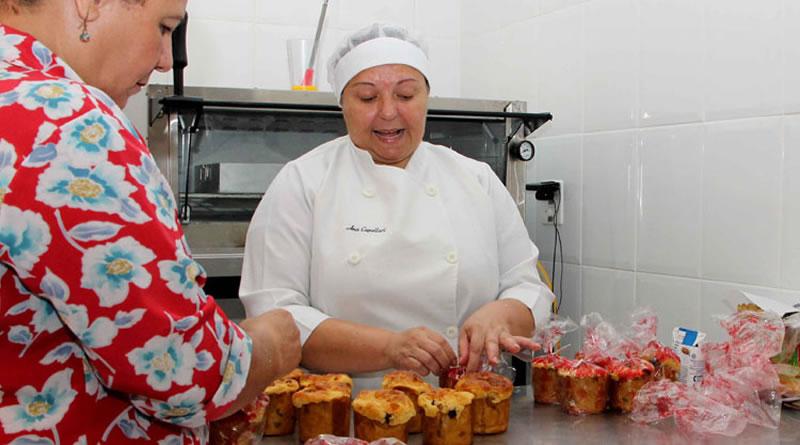 Curso para produção de pães e panetones