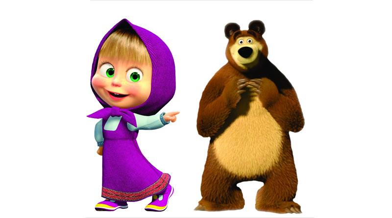 A Masha E O Urso Uma Nova Aventura Traz Diversao As Criancas Em Pg