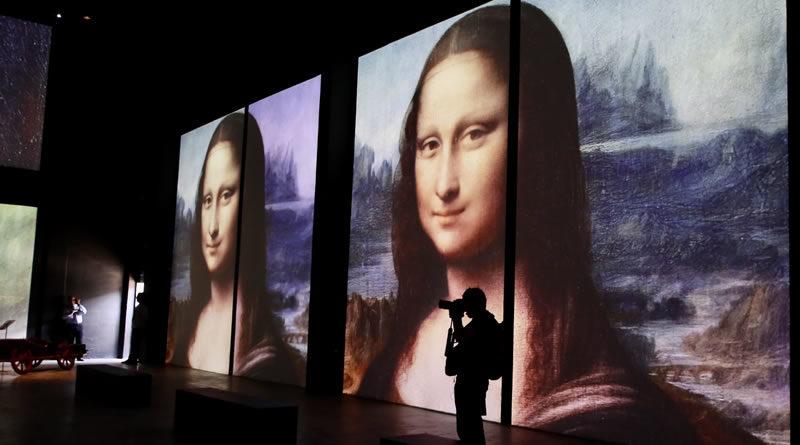 Exposição sobre Da Vinci recebe 64,5 mil pessoas no MIS Experience