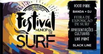 Festival Municipal de Surf acontece em Peruíbe nos dias 15 e 16