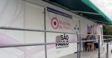 Carreta da Mamografia faz exames gratuitos na Praça Narciso de Andrade