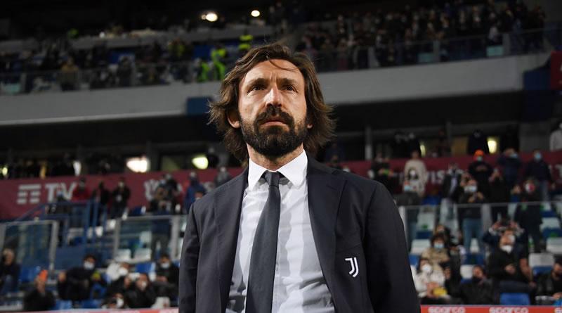Juventus demite Pirlo após apenas uma temporada no comando