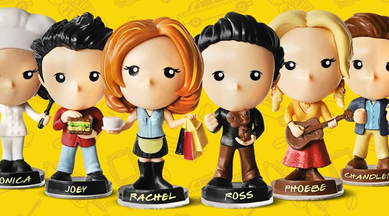 Miniaturas de 'Friends' chegam ao Bob's em todo Brasil