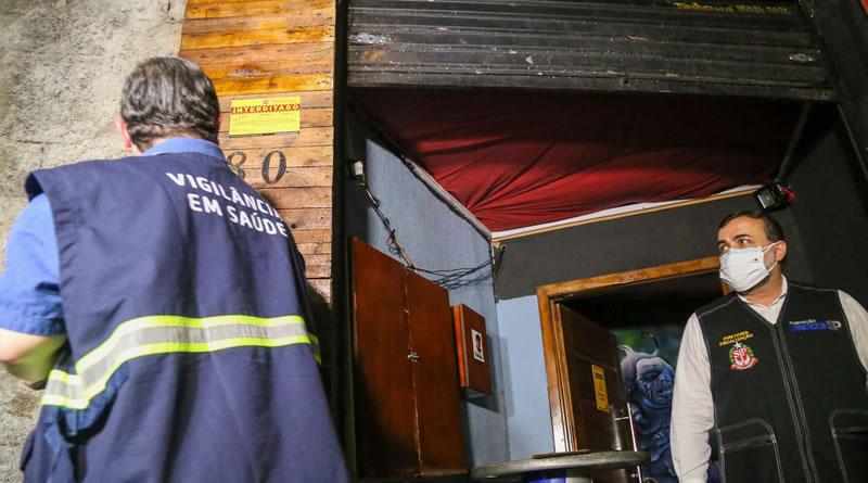 Veja as imagens da operação que flagrou dois jogadores em festa clandestina na Capital de São Paulo