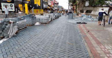Obras seguem na Nova Avenida Nossa Senhora de Fátima, em Mongaguá