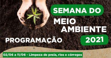 Prefeitura de Mongaguá realiza campanha da Semana do Meio Ambiente