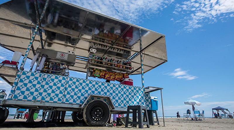Prefeitura de Praia Grande prorroga prazo para cadastro de novos ambulantes