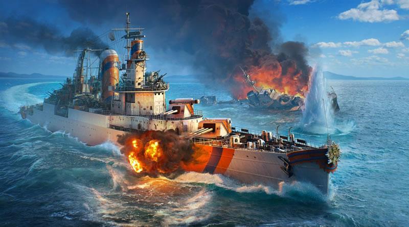 Cruzadores holandeses chegam ao World of Warships