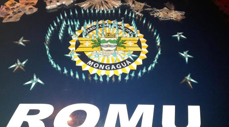 ROMU Mongaguá faz apreensão de drogas no Jardim Praia Grande