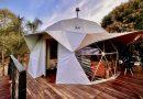 Pirenópolis recebe primeira hospedagem em estilo glamping domo geodésico