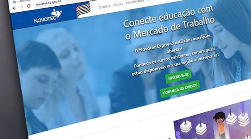 Prorrogadas inscrições para os cursos gratuitos do Novotec Expresso