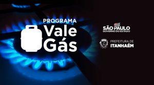 Itanhaém é incluída no programa Vale Gás do Estado