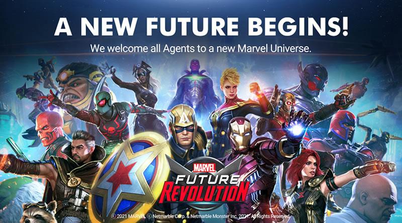 MARVEL Future Revolution é lançado globalmente