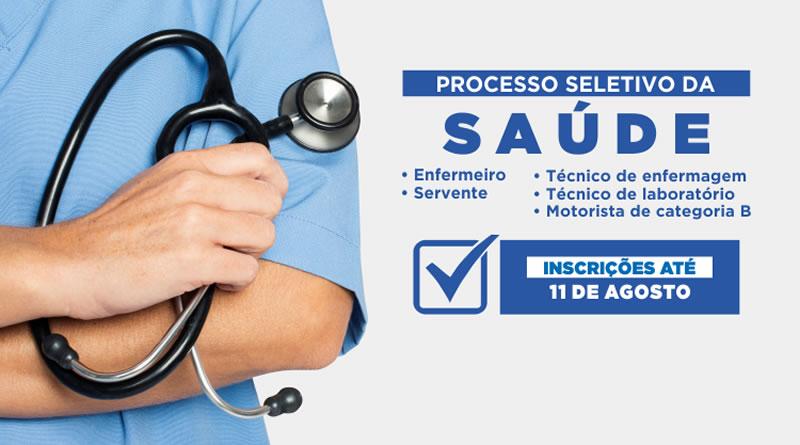 Processo Seletivo para contratação dos profissionais de saúde está com inscrições abertas em Itanhaém