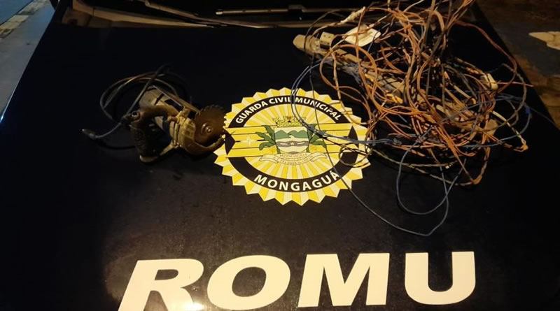 ROMU Mongaguá apreende indivíduo que confessa crime