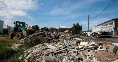 Mais de 183 toneladas de lixo são recolhidas em mutirão no Bairro Melvi